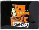 Kenzo Antonio Lopez clutch - women - Cotton/Calf Leather/Nylon - One Size
