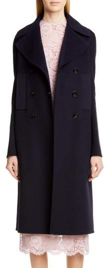 092828615 Double Face Cashmere Coat