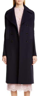 Valentino Double Face Cashmere Coat