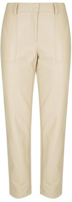 Akris Florin Leather Trousers