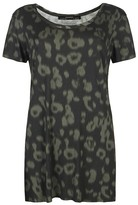 AllSaints Khaki Echo T-shirt