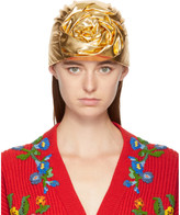 Gucci Gold Head Wrap