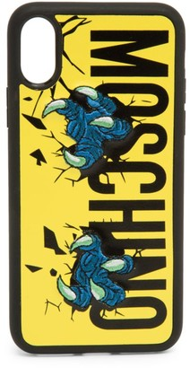 Moschino iPhone XS Max Monster Claw Phone Case