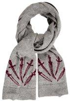 Rag & Bone Wool Fine Knit Scarf
