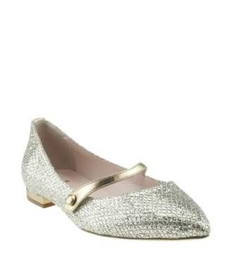 Kate Spade Gold Glitter Flats - ShopStyle