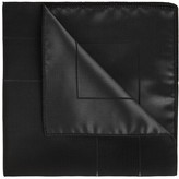 Paul Smith Black Silk Pocket Square
