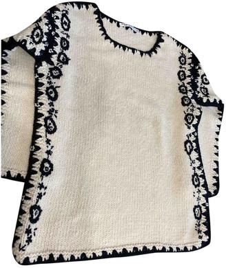 Christian Dior Beige Wool Knitwear