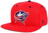 Zephyr Columbus Blue Jackets Snapback Cap