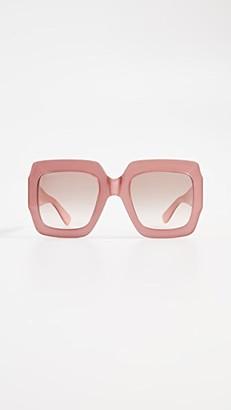 Gucci Pop Web Sunglasses