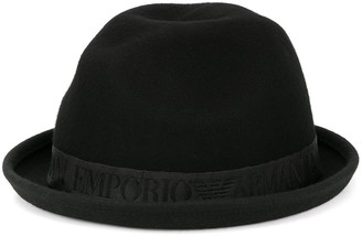 Emporio Armani Turned-Up Brim Hat