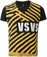 Versus printed V-neck T-shirt - men - Cotton - S