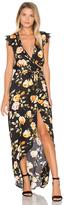 Karina Grimaldi Tamara Print Maxi Dress