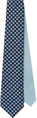 Prada Fruit print twill tie