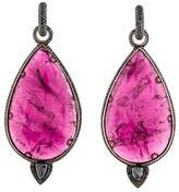 John Hardy Diamond & Tourmaline Earrings