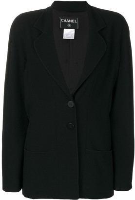 Chanel Pre Owned 2002 Two-Button Blazer