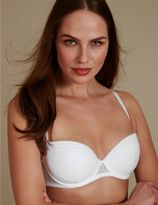 Marks and Spencer Lace Padded Push-up Balcony Bra A-E
