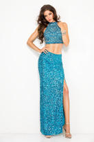 Scala 25398L Dress In Sky Blue