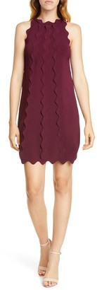 Ted Baker Rianori Scalloped Trim Shift Dress