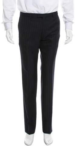 Dries Van Noten Striped Wool Pants w/ Tags