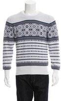 Michael Bastian Fair Isle Crew Neck Sweater w/ Tags