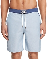 Solid & Striped Chambray Color Block Board Shorts