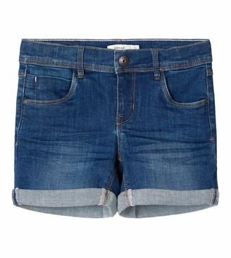 Name It Girl's Nkfsalli Dnmteja 3323 Shorts Noos