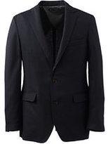 Classic Men's Tailored Fit Regatta Blazer-Coastal Cobalt Multi Stripe