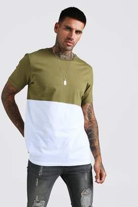 boohoo Colour Block T-Shirt