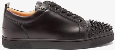 huge discount 7efe6 82b23 Louis Junior Spike Embellished Leather Trainers - Mens - Black