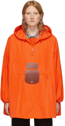 D'heygere Dheygere Orange Longchamp Edition Convertible Jacket