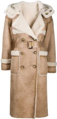 Urban Code Retter reversible faux-shearling coat
