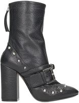 N°21 N.21 Black Leather Ankle Boots