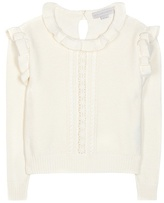 Stella McCartney Ruffled Cotton Sweater