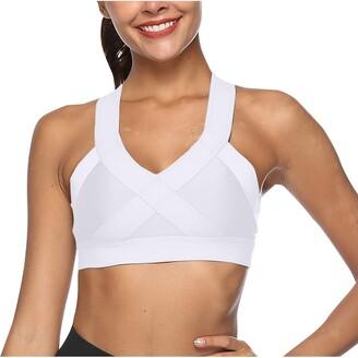 Jiegorge Women's Blouse Women Seamless Hollow Back Fitness Tank Tops Workout Gym Vest Yoga Underwear