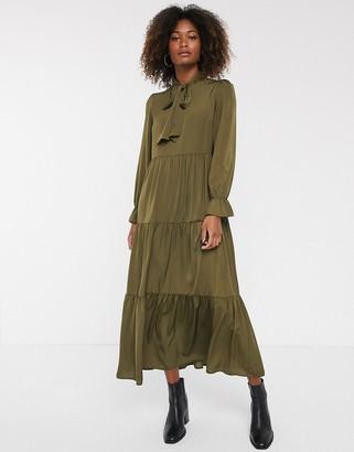 Y.A.S tiered midi dress