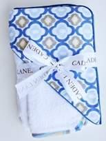Caden Lane Ikat Collection Mod Hooded Towel Set