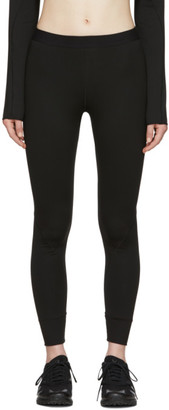 Wone Black Warm Polartec Logo Tights