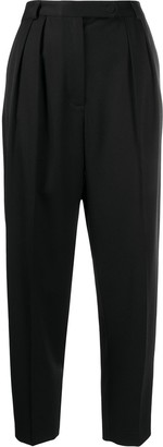 Styland High Waisted Cropped Trousers