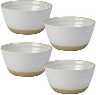 Certified International Artisan 4-piece Ice Cream Bowl Set