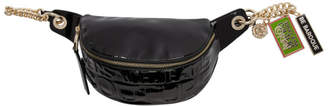 Versace Black Patent VJC Belt Bag
