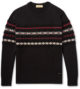 Burberry - Fair Isle Cashmere And Wool-blend Sweater