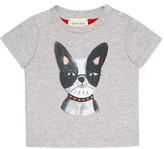 Gucci Toddler Boy's Bulldog Graphic Tee