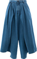 Chloé Punjabi denim trousers - women - Cotton/Polyester - 34