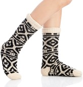 Sole Society Tribal Knit Slipper Sock