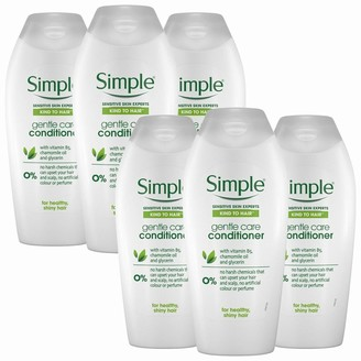Simple Kind To Hair Gentle Care Conditioner With Vitamin B5 6 X 400Ml
