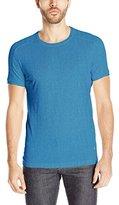 Jet Lag Men's Thermal Shoulder Washed Short Sleeve T-Shirt