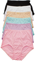 Angelina Solid High-Waisted Full-Coverage Briefs Set - Plus