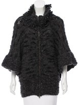 Stella McCartney Fleece Wool & Cashmere-Blend Cardigan