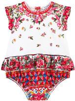 Dolce & Gabbana Printed onesie Maiolica