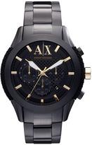 Armani Exchange Silicone Accent Bracelet Watch